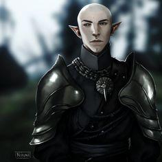 I like how Solas looks in human armor