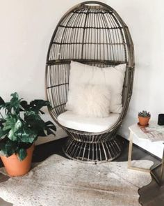Free shipping on orders of $35+ from Target. Read reviews and buy Latigo Swivel Patio Egg Chair Brown - Opalhouse™ at Target. Get it today with Same Day Delivery, Order Pickup or Drive Up. House With Balcony, Small Balcony Decor, Condo Balcony, Balcony Ideas, Patio Ideas, Boho Living Room, Living Spaces, Wicker Patio Chairs, How To Clean Pillows