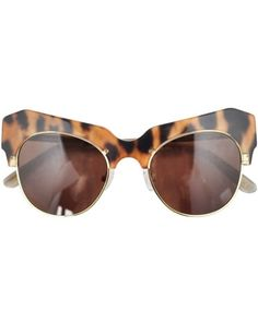 c95543a128 Leopard Cosmic Sunglasses by Shakuhachi Cheap Ray Ban Sunglasses
