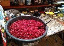 Zavařená červená řepa Raspberry, Cabbage, Beef, Fruit, Vegetables, Food, Author, Meat, Essen