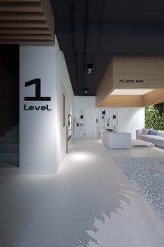 Architecture we like like / Interiour / office / Inside Garden / Numbers / at inspiration Corporate Office Design, Modern Office Design, Corporate Interiors, Workplace Design, Office Interior Design, Office Interiors, Interior Design Magazine, 3d Studio, Design Studio