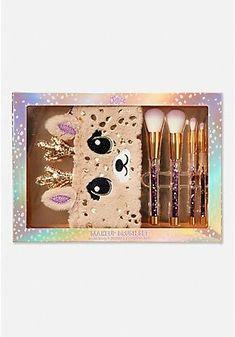 Deer Makeup Brush Set – 1830122 – Beauty Make up Styles Deer Makeup, Unicorn Makeup, Kids Makeup, Cute Makeup, Tween Girls, Toys For Girls, Makeup Brush Set, Makeup Kit, Justice Makeup