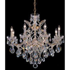 2a9e9bea77d4 Maria-Theresa-Gold-Eight-Light-Chandelier-with-Swarovski- · Crystal  ChandeliersChandelier ...