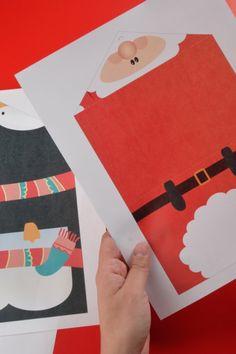 12 awesome postales de navidad originales hechas a mano - Como hacer manualidades navidenas para ninos ...