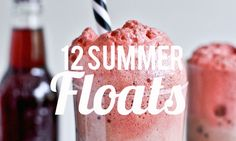Twelve bubbly soda float recipes we are particularly smitten with this summer.