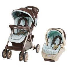 Years away, but I love this color/design! Graco Alano Travel System - Kinsey