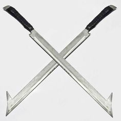 Lord of the Rings Inspired Urk Hai Wooden Scimitar Costume Sword LARP Weapon