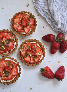Mini Strawberry Tarts   Sacramento Street