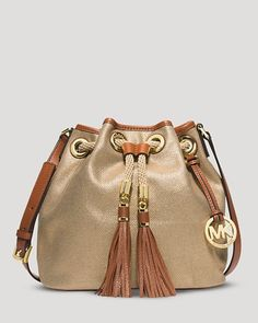 MICHAEL KORS Shoulder Bag Marina Medium Gold $165 SHIPS FREE BEST PRICES YOU WILL FIND ANYWHERE ON GENUINE LADIES DESIGNER BRANDS! FREE WORLD SHIPPING & LOCAL DELIVERY AVAILABLE AT THE SURF CITY SHOP in Huntington Beach, California Major Credit Cards Accepted!