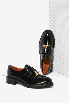 Jeffrey Campbell Calvert Leather Oxford//