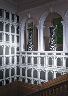 Fornasetti Wallpaper Fun | The English Room