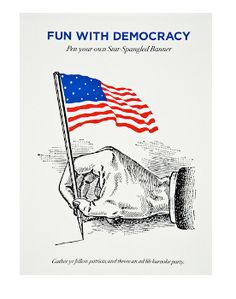 Fun with Democracy Mad Libs, Crispin Porter and Bogusky for The Wolfsonian