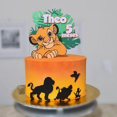 Lion King Party, Lion King Baby Shower, Kids Decor, Cake Smash, Baby Shower Decorations, Event Planning, First Birthdays, Cake Toppers, Icing