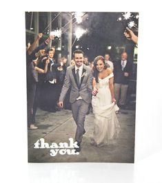 cute wedding thank you cards: of course this would not be these goof balls.