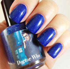 Dr.+Who+nail+polish | Fierce Makeup and Nails: Honey Buttons Nail Polish: Doctor Who Trio