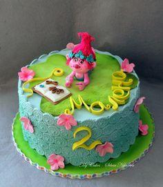 Trolls Cake - Cake by marulka_s