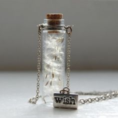 How about a bottle of wishes - gorgeous necklace from the awesome Early Bright