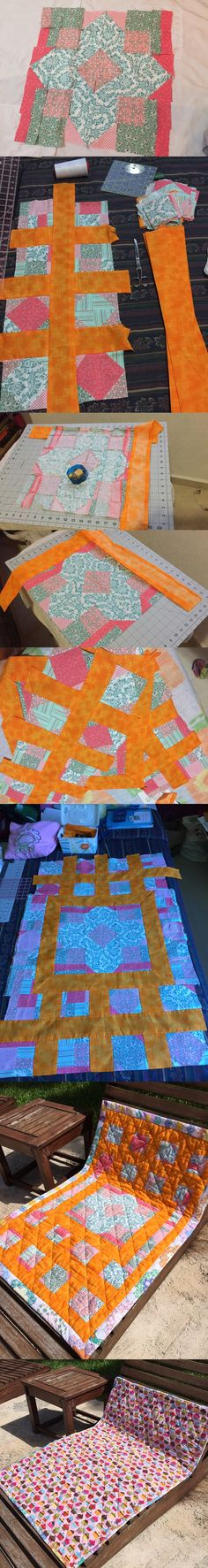 My first baby quilt made for baby #elliotavery