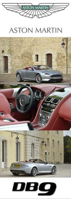 Aston Martin DB9. Discover more at http://www.astonmartin.com/cars/the-new-db9 #AstonMartin
