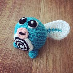 PokemonGo! CrochetGo!  #060 Ptitard / Poliwag free crochet pattern and…