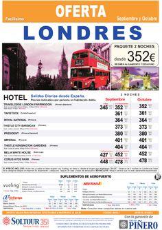 Londres - Avión + Hotel - Londres salidas desde Madrid - http://zocotours.com/londres-avion-hotel-londres-salidas-desde-madrid/