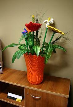 LEGO flowers!