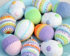 Source Free Easter Egg Crochet Patterns Easter is almost here! It's time to fill up our baskets with some colorful woolly crochet eggs! Crochet them… Easter Crochet Patterns, Crotchet Patterns, Crochet Crafts, Crochet Projects, Crochet Amigurumi, Amigurumi Patterns, Crochet Toys, Free Crochet, Crochet Rabbit