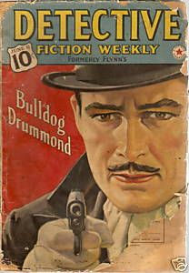 Bulldog Drummond - another radio staple Book Cover Art, Comic Book Covers, Comic Books, Old Time Radio, Pulp Fiction, Detective, Vintage Photos, Mystery, Entertaining