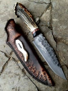Stag Antler handled knife