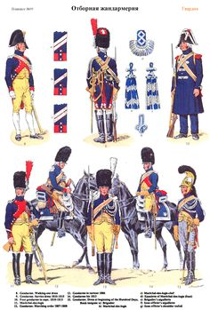 Gendarmerie 1801-1815 (pl 95) 2