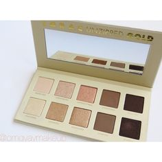 Lorac Unzipped Gold eyeshadow palette. From instagram.com/omgyaymakeup