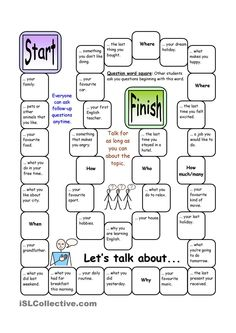 Board Game - Lets Talk About (Elementary)