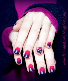 fall in ...naiLove!: Japan by night nails...