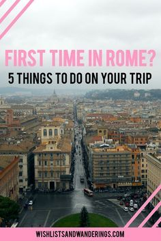 The Colosseum. The Vatican. The Sistine Chapel. St Peter's Basilica. The food. Between Hollywood and the history books, you've probably already seen and heard a lot about Rome. But with so much to see and do, where do you start? From the ancient city to Italian gelato and the best views in the city, there is a lot you can cover in one short visit. Here's what to see and do on your trip to Rome, Italy.