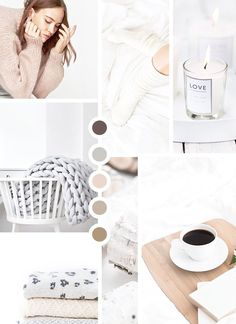 minimal mood board, moodboard, design, branding, color palette, neutral palette, #moodboard, #cozy, #colorpalette