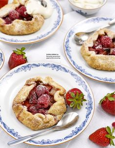 SUMMER BERRY GALETTES — Roy Fares