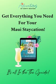 Get Everything You Need for your Maui Staycation! Staycation, Hurricane Glass, Maui, Empty, Everything, Activities, Adventure, How To Plan, Feelings