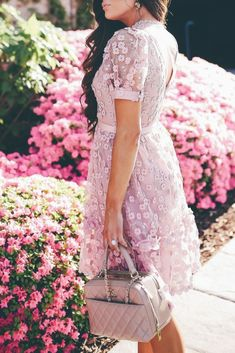 This dress is Pretty as a picture, this feminine frock is styled with lovely floral lace and a swingy ruffled skirt that's perfect for twirling.  Emily Ann Gemma, The Sweetest Thing Blog. #EmilyGemma #TheSweetestThingBlog #fashionblogger #fashionoutfit #springfashion #springstyle #springtrends
