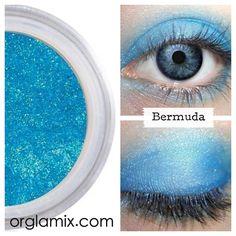 Bermuda Eyeshadow from Cruelty Free Cosmetics | Vegan Beauty | Natural Makeup | ORGLAMIX.COM