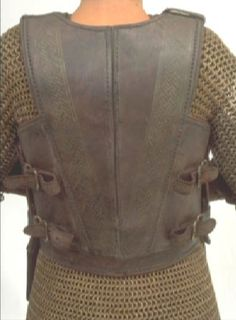 back of Eowyn armor