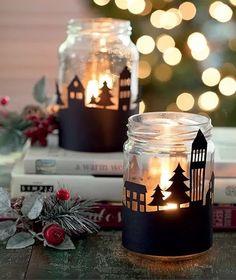Decorações de Natal simples e criativas