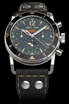 TNT Challenger Black Luna Watch: Something Old, Something New, Something Awesome