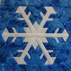 Snowflake 3 by canuckquilter | Quilting Pattern - Looking for your next project? You're going to love Snowflake 3 by designer canuckquilter. - via @Craftsy