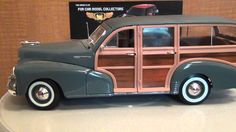 1948 Chevrolet Fleetmaster Woody 1:18 Diecast review