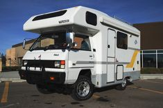 Learn more about Factory Camper for Four: 1992 Mitsubishi Delica Vantech on Bring a Trailer, the home of the best vintage and classic cars online. Truck Camping, Camping Gear, Delica Van, Mitsubishi Delica, Class B Camper Van, Campervans For Sale, 4x4, Diesel, Overland Trailer