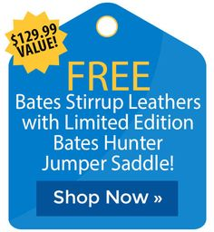 Free Bates Stirrup Leathers with Limited Edition Bates Hunter Jumper Saddle! Stirrup Leathers, Horse Supplies, Riding Pants, Cyber Monday Sales, Hunter Jumper, Holiday Deals, Peppermint, The Selection, Shop Now