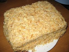 рецепт торта наполеон от селезнева