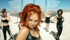 Geri Halliwell la colorina de las Spice Girls espera la llegada de su segundo hijo