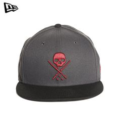 Mens New Era snapback hat with Sullen badge on front and Sullen woven label on back at snap closure. Polyester -Puff embroidery on center front -New Era Fitted cap -Imported Lifestyle Clothing, Cool Hats, Snapback Hats, Baseball Hats, Skull, Cap, How To Wear, Collection, Design