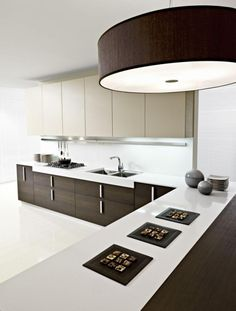 Black And White Lavish Modern Italian Kitchen Cabinet For 2014 Design Ideas - pictures, photos, images